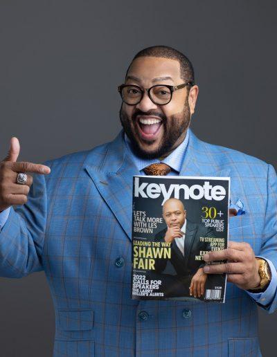 Anthony D. Shannon - Keynote Magazine 2